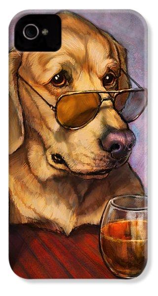 Ruff Whiskey IPhone 4 Case