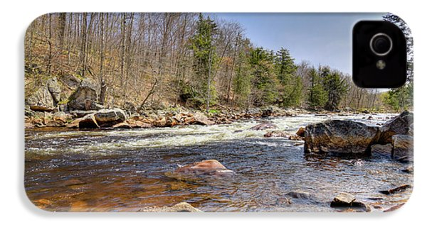 IPhone 4 Case featuring the photograph Rushing Waters Of The Moose River by David Patterson