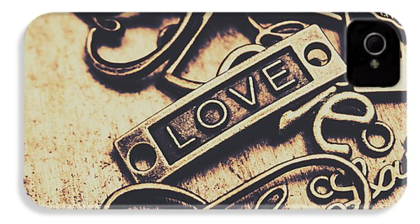 Rustic Love Icons IPhone 4 / 4s Case by Jorgo Photography - Wall Art Gallery