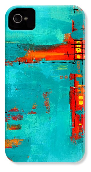 Rusty IPhone 4 Case by Nancy Merkle