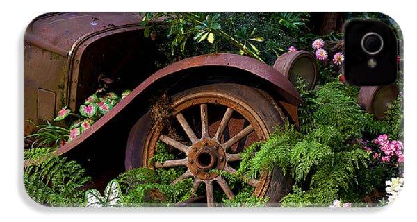 Rusty Truck In The Garden IPhone 4 Case