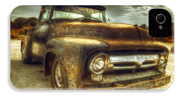 Rusty Truck IPhone 4 Case by Mal Bray