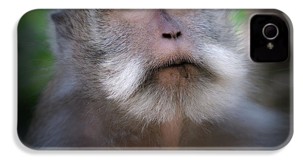 Sacred Monkey Forest Sanctuary IPhone 4 / 4s Case by Larry Marshall