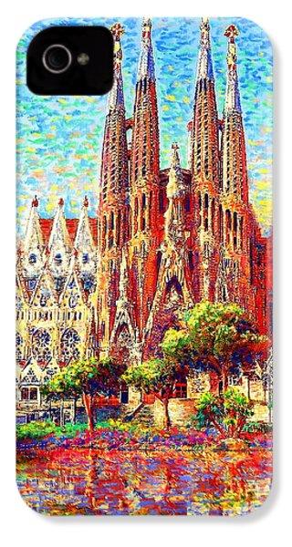 Sagrada Familia IPhone 4 Case by Jane Small