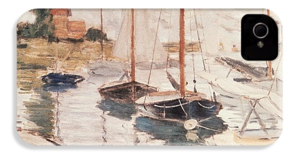 Sailboats On The Seine IPhone 4 Case