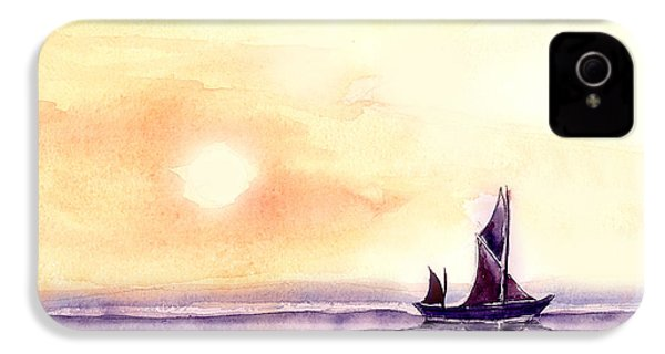 Sailing IPhone 4 / 4s Case by Anil Nene