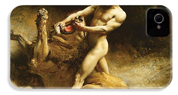 Samson's Youth IPhone 4 Case by Leon Joseph Florentin Bonnat