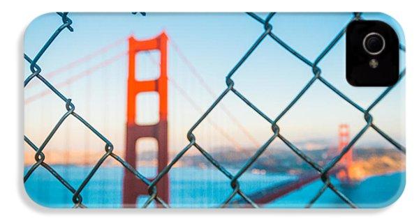 San Francisco Golden Gate Bridge IPhone 4 Case by Cory Dewald