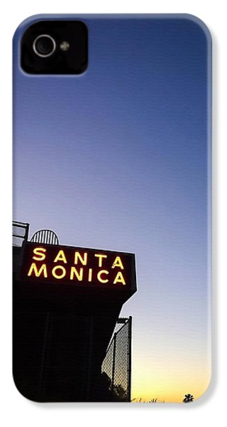 Santa Monica Sunrise IPhone 4 Case