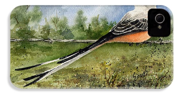 Scissor-tail Flycatcher IPhone 4 Case