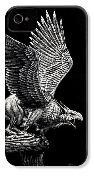 Screaming Griffon IPhone 4 Case