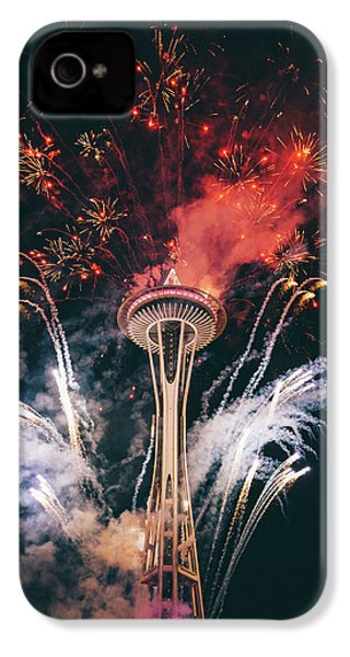 Seattle IPhone 4 Case by Happy Home Artistry
