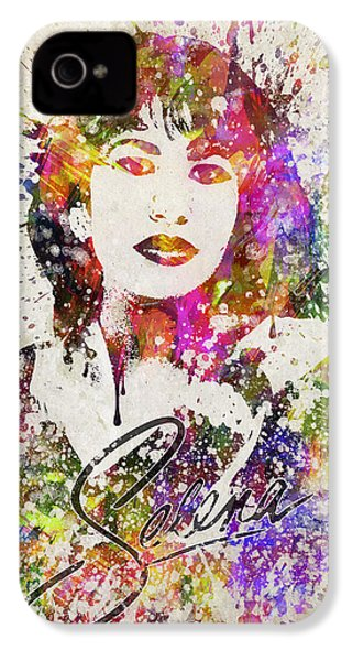 Selena Quintanilla In Color IPhone 4 Case by Aged Pixel