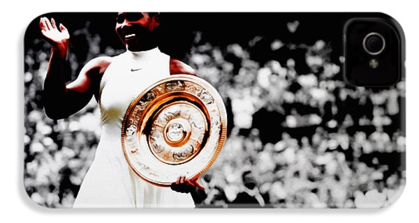 Serena 2016 Wimbledon Victory IPhone 4 Case by Brian Reaves