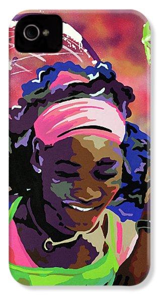 Serena IPhone 4 Case by Chelsea VanHook