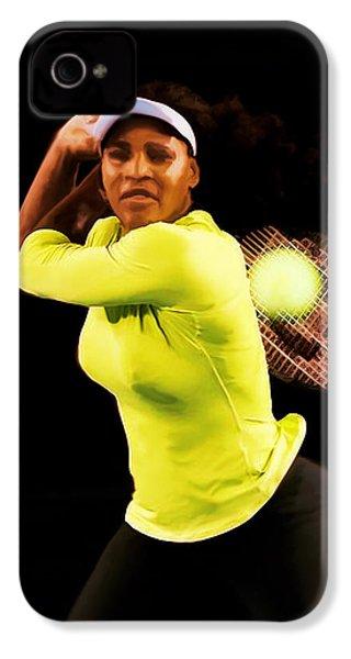 Serena Williams Bamm IPhone 4 Case