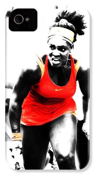 Serena Williams Go Get It IPhone 4 Case