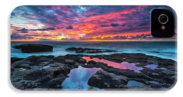 Serene Sunset IPhone 4 Case by Robert Bynum
