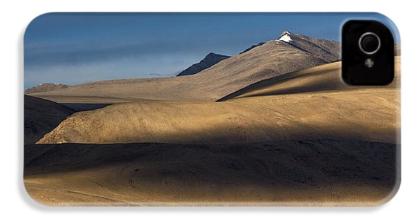 Shadows On Hills IPhone 4 Case by Hitendra SINKAR