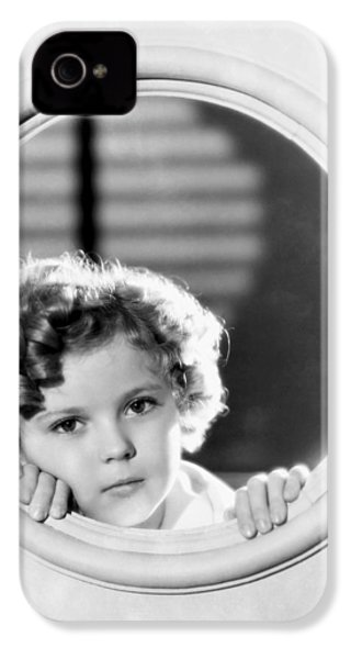 Shirley Temple (1928-2014) IPhone 4 Case by Granger