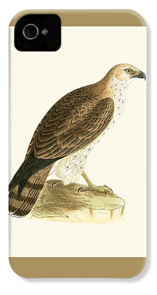 Short Toed Eagle IPhone 4 Case by English School
