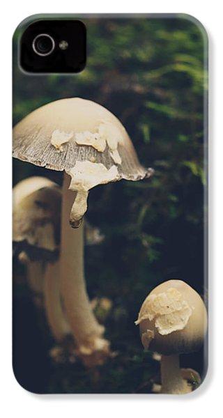Shroom Family IPhone 4 Case by Shane Holsclaw