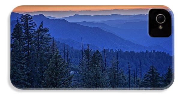 Sierra Fire IPhone 4 Case by Rick Berk