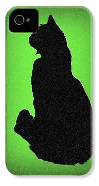 IPhone 4 Case featuring the photograph Silhouette by Karen Shackles