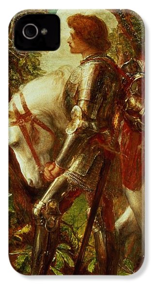 Sir Galahad IPhone 4 / 4s Case by George Frederic Watts