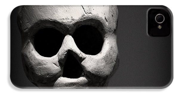 Skull IPhone 4 Case by Joseph Skompski