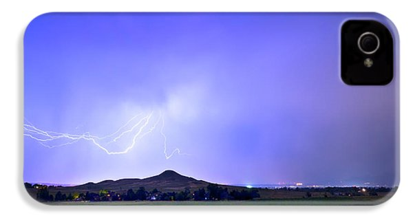 IPhone 4 Case featuring the photograph Sky Monster Above Haystack Mountain by James BO Insogna