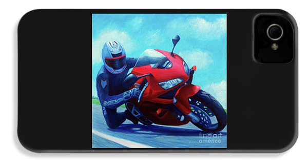Sky Pilot - Honda Cbr600 IPhone 4 Case