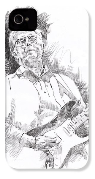 Slowhand IPhone 4 Case by David Lloyd Glover