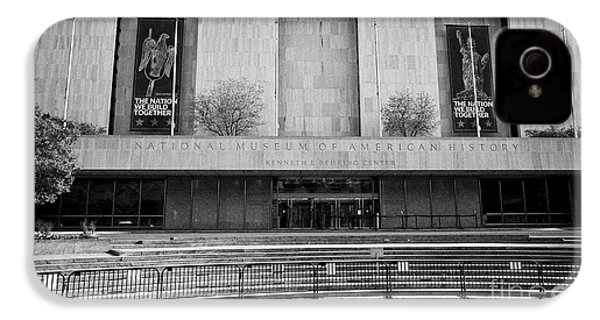 smithsonian national museum of american history kenneth behring center Washington DC USA IPhone 4 Case by Joe Fox
