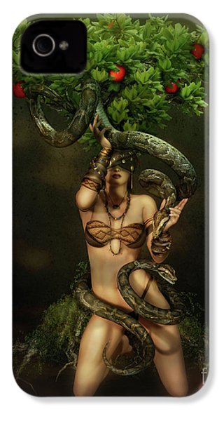Snake Charmer IPhone 4 / 4s Case by Shanina Conway