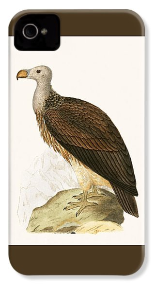 Sociable Vulture IPhone 4 Case by English School