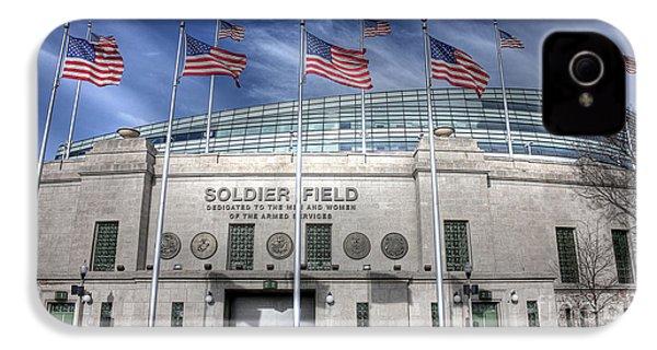 Soldier Field IPhone 4 Case