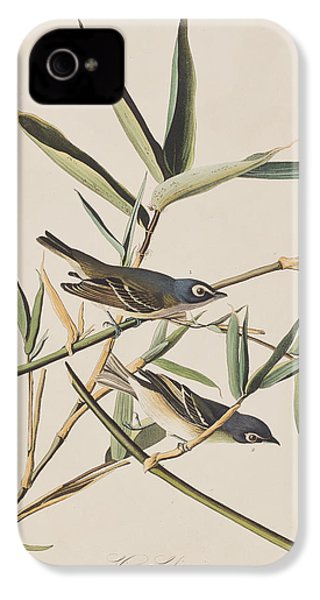 Solitary Flycatcher Or Vireo IPhone 4 Case by John James Audubon