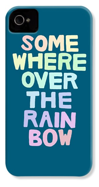 Somewhere Over The Rainbow IPhone 4 Case by Priscilla Wolfe