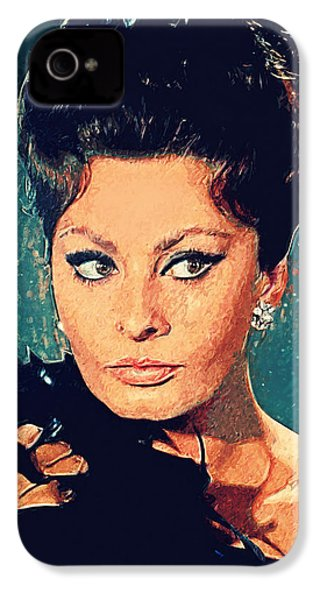 Sophia Loren IPhone 4 Case