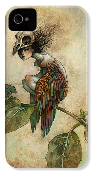 Soul Of A Bird IPhone 4 / 4s Case by Caroline Jamhour