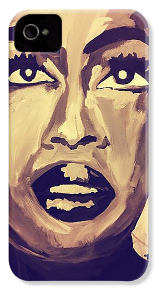 Soul Sister  IPhone 4 Case by Miriam Moran