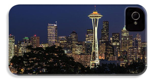 Space Needle IPhone 4 Case by David Chandler