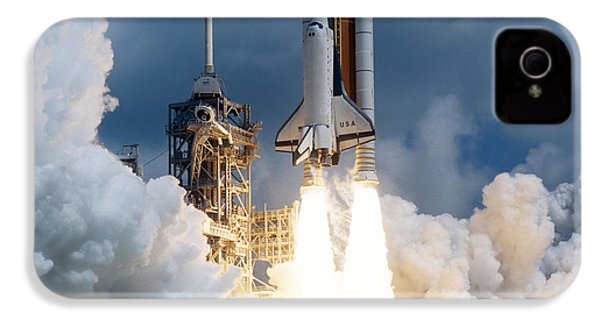 Space Shuttle Launching IPhone 4 Case by Stocktrek Images