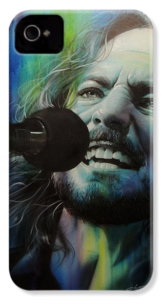 Eddie Vedder - ' Spectrum Of Vedder ' IPhone 4 Case