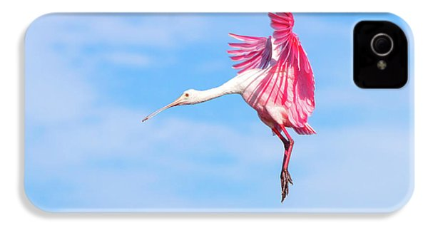 Spoonbill Ballet IPhone 4 Case by Mark Andrew Thomas