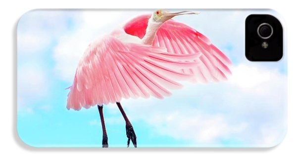 Spoonbill Launch IPhone 4 Case by Mark Andrew Thomas