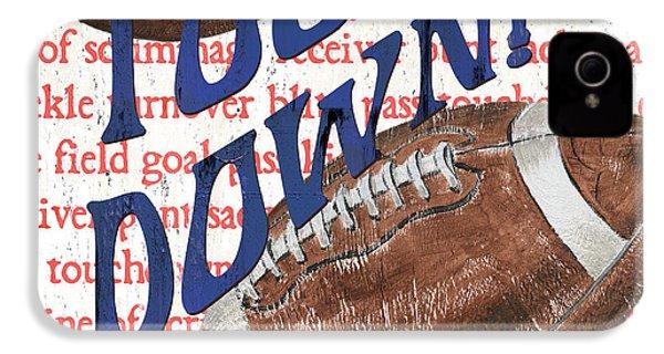 Sports Fan Football IPhone 4 Case