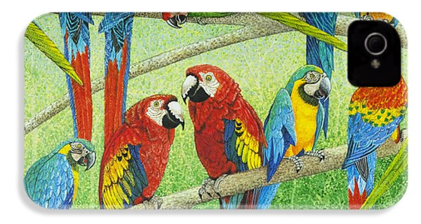 Spreading The News IPhone 4 Case by Pat Scott