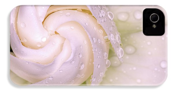 Spring Showers On The Gardenia IPhone 4 Case by JC Findley